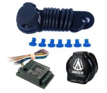 SWAN3: Single kit, socket cover, 7 way smart bypass relay